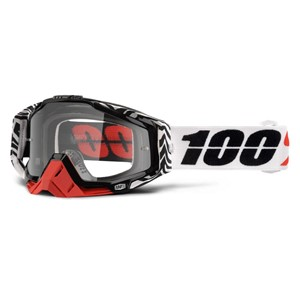 100% RACECRAFT ZOOLANDER GOGGLE - CLEAR LENS