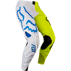 2017 Fox Racing Youth 360 Creo Pants-White/Yellow-22