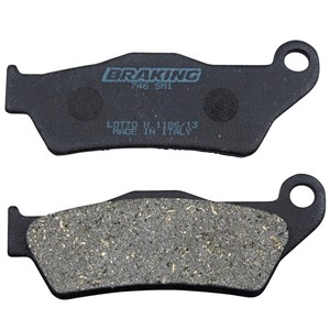 Braking Brakepads Semisenter Front