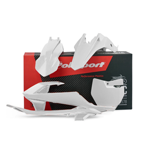 Polisport Plastic Kit White 16-17