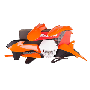 Polisport KTM Plastic Kit Enduro 14-16 ink. headlight