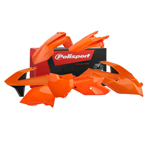 Polisport Plastic Kit 17 incl airbox, orange