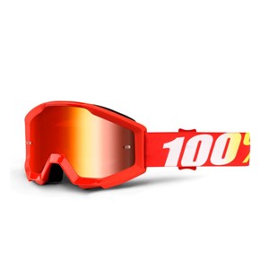 100% Strata Youth Furnace - Mirror Red Lens