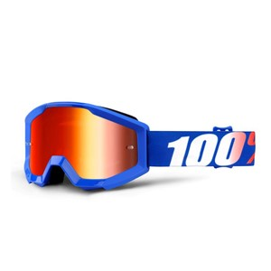 100% Strata Youth Nation - Mirror Blue Lens