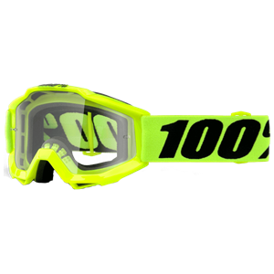 100% YOUTH ACCURI GOGGLE YELLOW/CLEAR