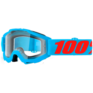 100% YOUTH ACCURI GOGGLE BLUE/CLEAR