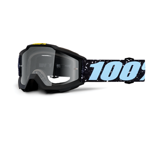 100% ACCURI YOUTH GOGGLE MILKYWAY - CLEAR LENS