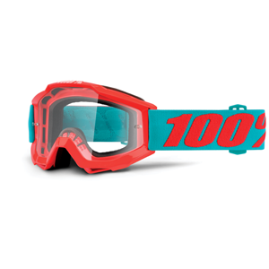 100% Accuri Youth Goggle Passion Orange Clr Lens