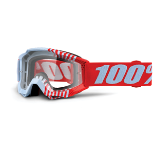 100% Accuri Youth Goggle Cupcoy - Clear Lens