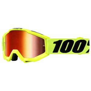 100% YOUTH ACCURI GOGGLE YELLOW/RED
