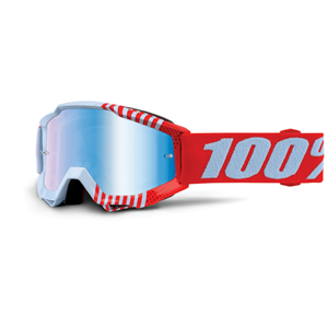 100% Accuri Youth Goggle Cupcoy - Mirror Blue Lens