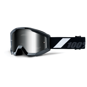 100% STRATA YOUTH GOGGLE GOLIATH - MR. SILVER LENS