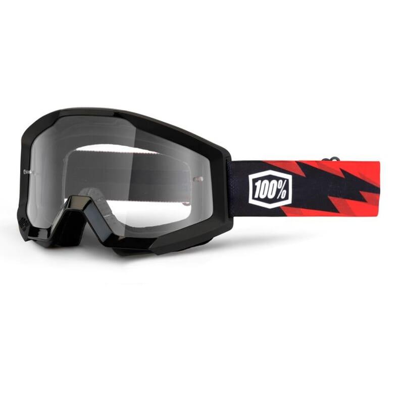 100 Strata Slash Goggle Clear Lens Speed Shop