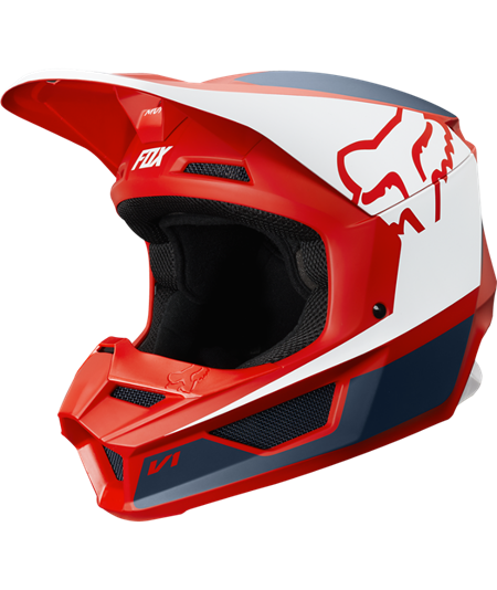 V1 PRZM HELMET NAVY/RED