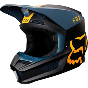 V1 MATA HELMET NAVY/YELLOW