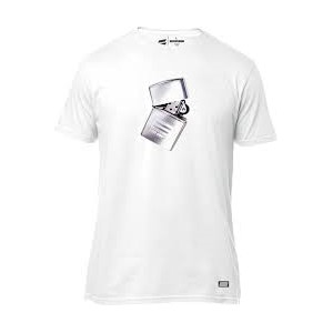 SHIFT LIGHTER SS TEE [WHT]