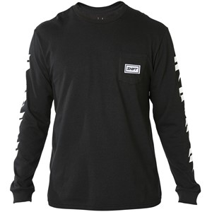 SHIFT BRANDED LS TEE [BLK]