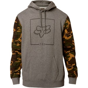 CHAPPED CAMO PULLOVER FLEECE
