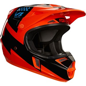 Youth v1 mastar helmet, ece Orange