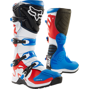 Comp 5 boot Blue/Red