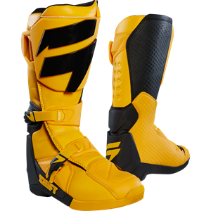 WHIT3 LABEL BOOT YELLOW