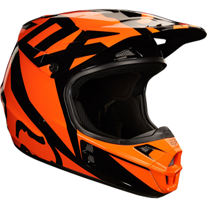 V1 Race helmet Orange