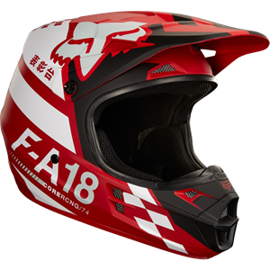 V1 Sayak helmet Red