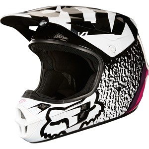 V1 Halyn helmet Black/Pink