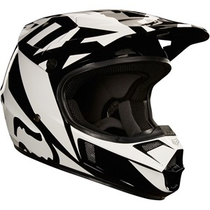 Youth v1 race helmet, ece Black
