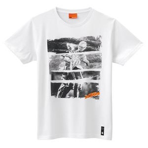 SPLIT GRAPHIC TEE