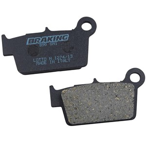 Braking Brakepads Semisenter Rear