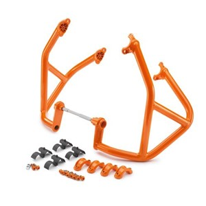CRASH BAR SET ORANGE