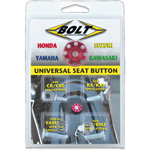 Bolt Universal Anodized Seat Button