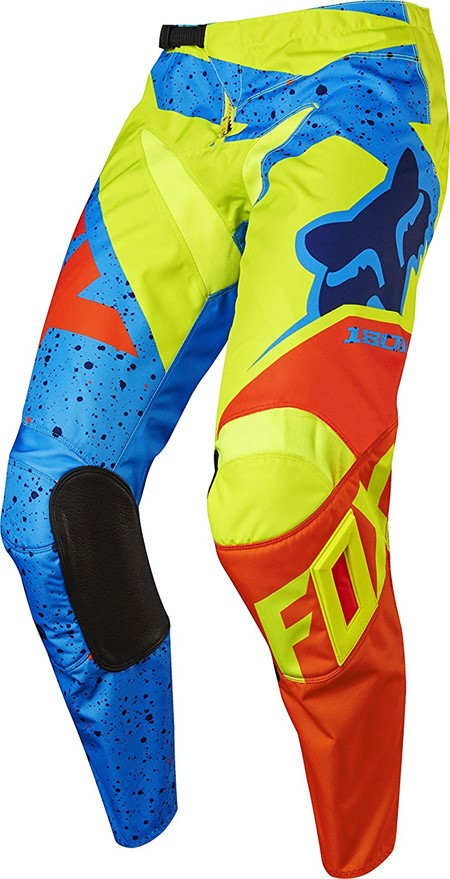 Fox Racing Youth 180 Nirv Pant Yellow/Blue 22
