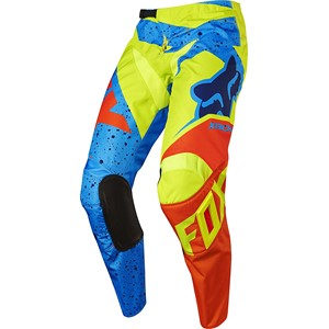 Fox Racing 2017 Youth 180 Nirv Pant Yellow/Blue 24