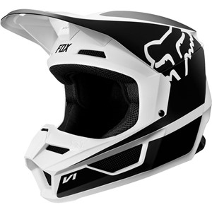 V1 PRZM HELMET BLACK/WHITE